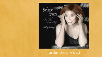 On The Same Page CD Stefanie Powers