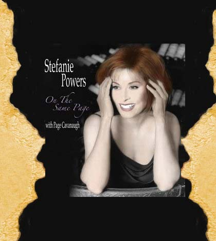 Stefanie Powers On The Same Page CD