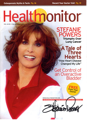 Health Monitor Magazine Stefanie Powers