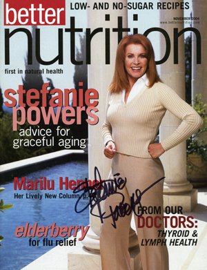 Better Nutrition Stefanie Powers
