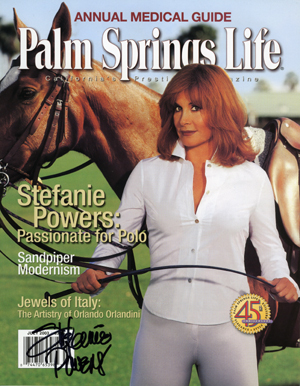 Palm Springs Life Magazine Stefanie Powers