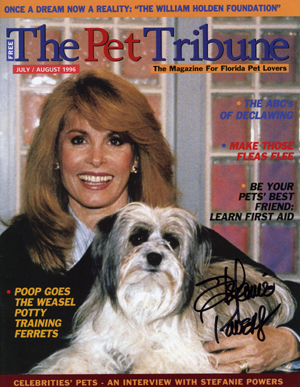 The Pet Tribune Magazine Stefanie Powers
