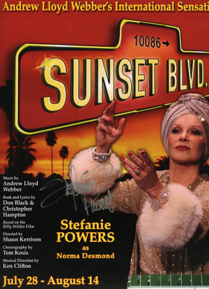 Stefanie Powers Sunset Blvd.