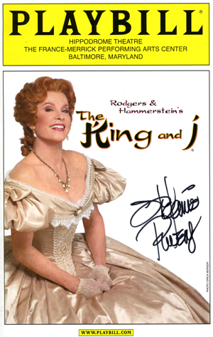 Stefanie Powers The King & I